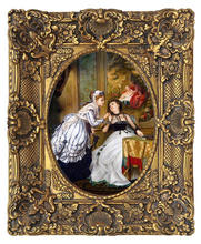High Quality oil painting frame antique looking european style frame for painting