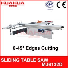 MJ6132D double saw blades 45 degree sliding table saw