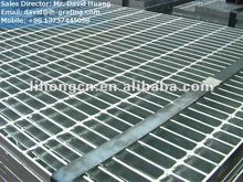 galvanized banded end steel grating