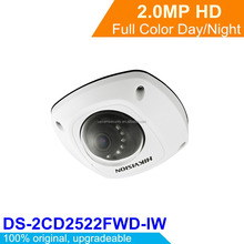 Original Hikvision 2MP Mini Dome Camera CCTV Security Wifi 2p2 Wireless IP Camera DS-2CD2522FWD-IW