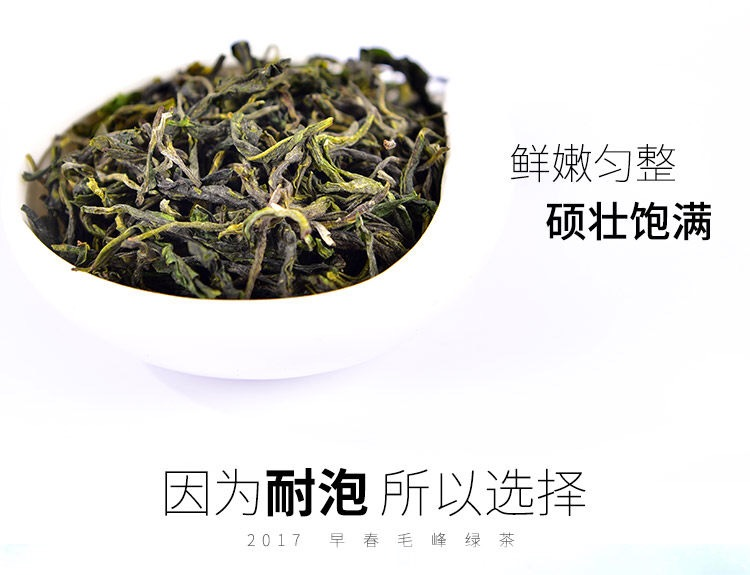 2017 Early Spring Maofeng Tea Fresh Green Tea