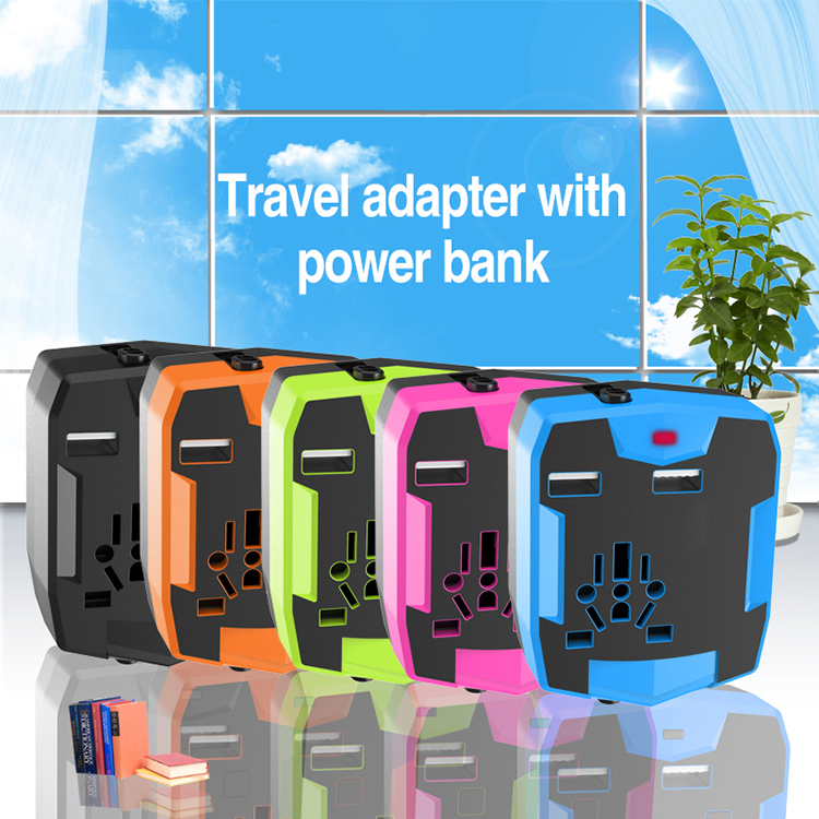 Wholesale Universal AC Power Plug World Travel <strong>Adapter</strong> with CE/RoHS/FCC Certificate