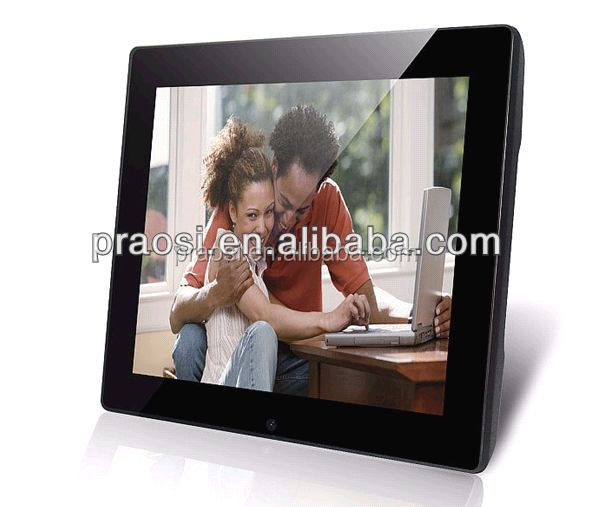 Wall Mount or Desktop Mirror face 12 inch digital photo frame with video loop for adverting