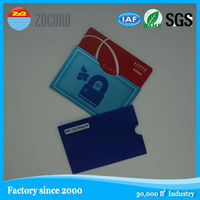 New style RFID bank card blocking wallet for men and women