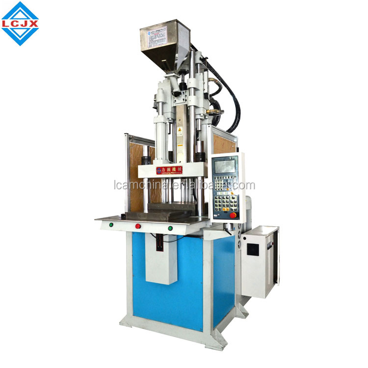 160t vertical single slide table injection molding machine plc