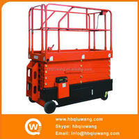 Self propelled hydraulic scissor lift skylift aichi