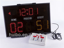electronic led portable basketball scoreboard oem