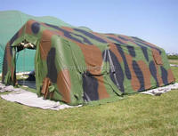 Outdoor inflatable military tent , inflatable shelter tent , inflatable army tent