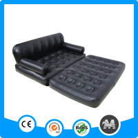 Hot sale three person five-in-one inflatable chesterfield sofa