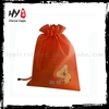 ECO gift nonwoven drawstring bag, fashion drawstring non woven bag, blank drawstring bags