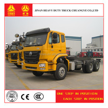 new products Sinotruk Howo 6*4 tractor truck LHD for sale