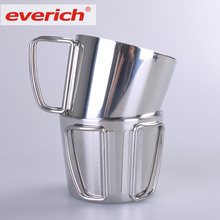 Everich Hot Sale New Products Private Label Stainless Steel Moscow Mule Copper Mugs Set Of 4
