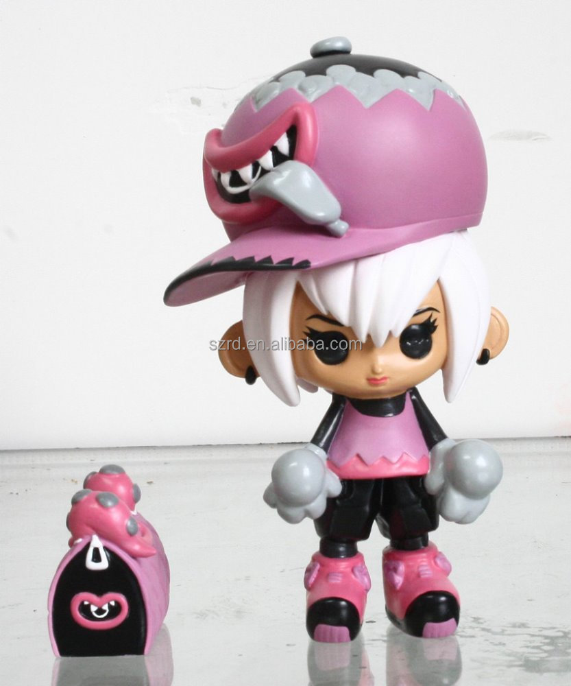 cartoon figure polyresin character/ oem custom polyresin figure/ limited polyresin figurine