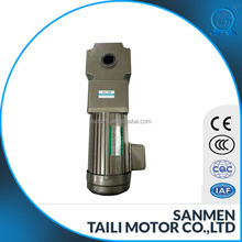 hot sales ac right angle geared motor hollow type 120mm type 750W