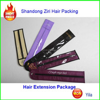 hair gift extension packaging bag/pvc hair extensions packaging bag,vinyl hair extension bag