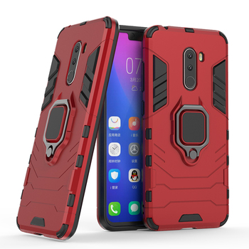 2018 New product cell phone case back cover TPU+PC material  phone case for Xiaomi Pocophone F1