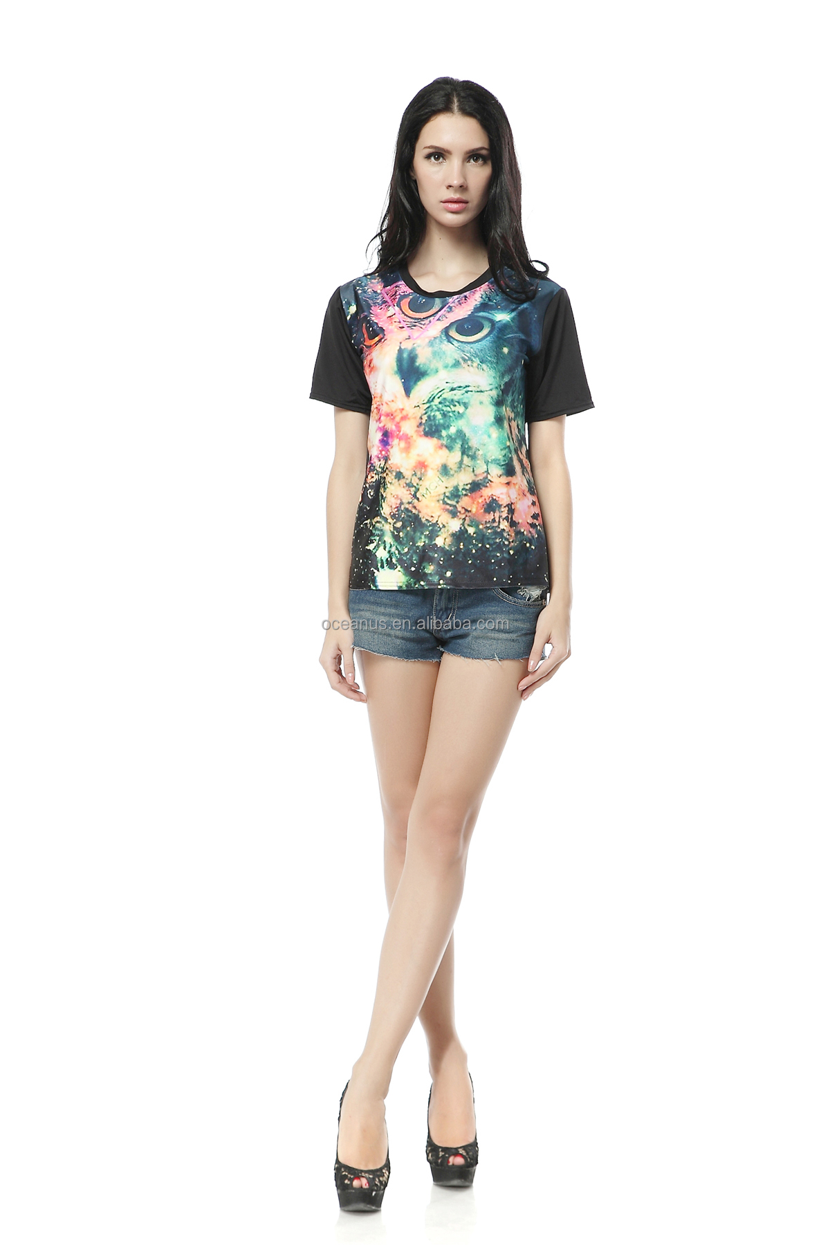 China Manufacturer all over print t shirts