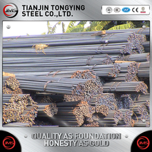 Factory price steel rebar, deformed steel bar, iron rods from tangshan factory price/building rebar