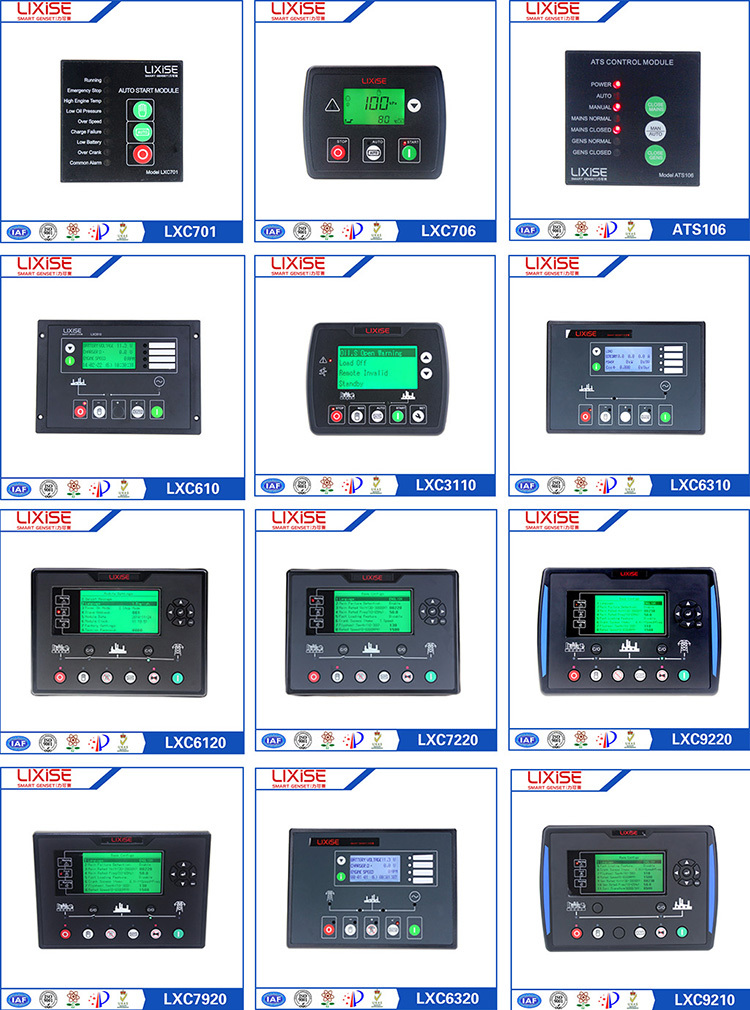 LXC6310 LIXiSE Completely replaced dse5110 auto start genset controller