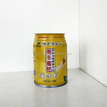 692# 250ml tin empty beverage can