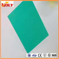 canopy roof / interior decoration solid polycarbonate sheet material