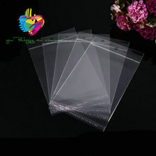 YiWu Good Quality clear self adhesive seal custom printed raw material wholesale opp poly bag