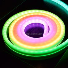 multi color changing led rope light IC-built in RGBW led strip for sale