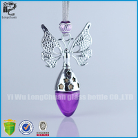 3ml Butterfly Empty Hanging Car Perfume Bottle, Air Freshener Auto Fragrance Diffuser