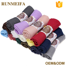 Islamic Dress Scarf Promotion Knitting Arab Ladies Headband Fashion Islamic Muslim Women Turban