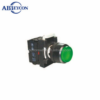 BB104 extended push button switch self-resetting 22mm momentary led illuminated extended botton
