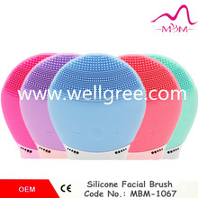 Free Shipping New Magic Practical Silicone Oval Blackhead Remover Facial Brush Cleansing Baby Head Washing Skin Care Beauty