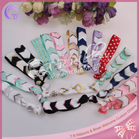New! Fold over elastic hair band, 9 types, random delivery, elastic hair band wholesale