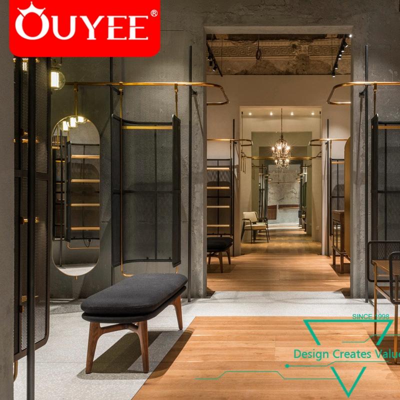 Fashion Unique Wall Retail Store Furniture Shop Design Ideas For Clothing -  Buy Shop Design Ideas For Clothing,Retail Clothing Store ...