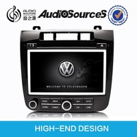 Beetle car dvd player for vw touareg T5 Multivan with FM and AM, RDS station logo can be displayed, the original radio effect