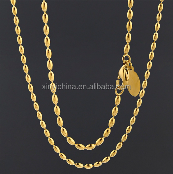 Latest Product In 2017 Thin 10K Gold Chains
