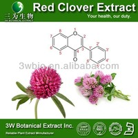GMP Factory Red Clover Extraction/P.E./100% Natural Red Clover Extract Powder Isoflavone