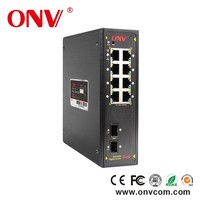 8 port POE Switch 8 x10/100 Network Switch for Centralized manage wireless AP industrial gigabit