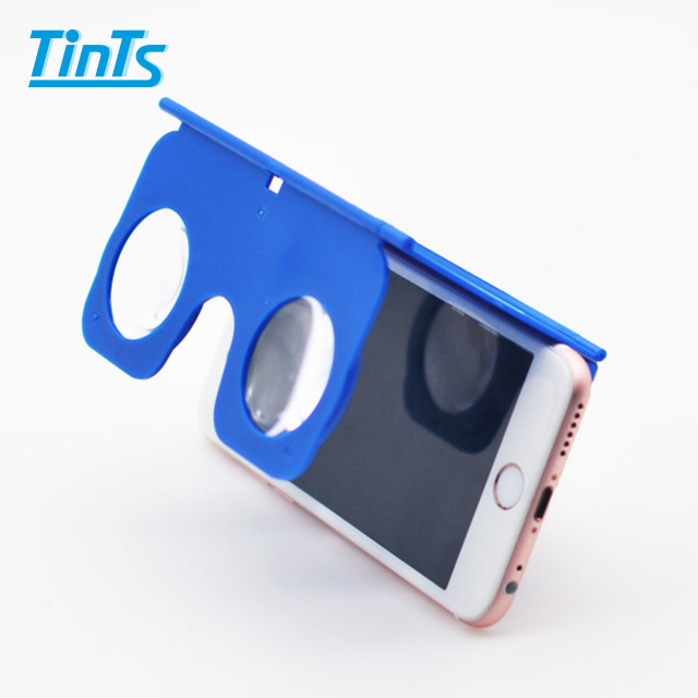 Portable 3D VR Glasses with case and Stand