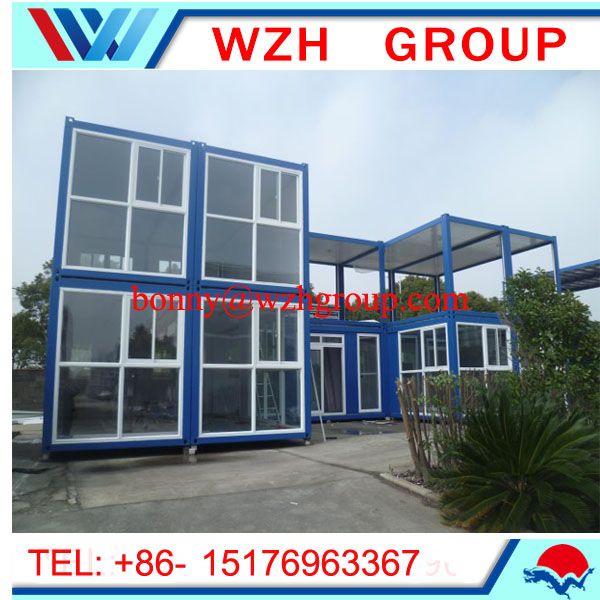 economic living container house , Customized prefab modular office building