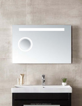 CE RoHS bathroom makeup mirror with led light Magnifying function MZ001