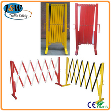 High Quality Aluminum Road Expandable Temporary Barricade