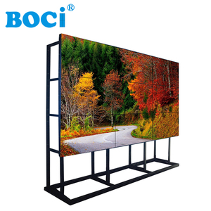 46 Inch Ultra Narrow Bezel Indoor Advertising Screen 3x3 LCD Video Wall
