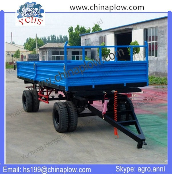 Rigid construct hydraulic dump trailer for sale
