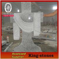 cross headstones cross tombstone made in China
