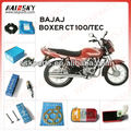 HAISSKY High quality bajaj three wheeler parts price/bajaj motorcycle spare parts