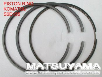 6128-31-2060, Piston Ring for Komatsu S6D155/SA6D155