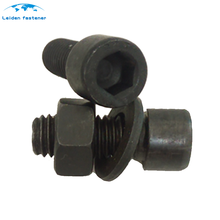 Factory price wholesale black m16 gr8.8 socket head cap screw with washer