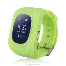 Multifunctional smart kids gps watch gps watch phone q50 smart watch lost preventer