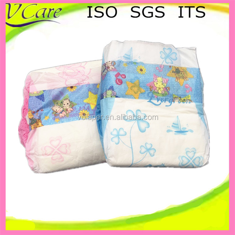 disposable good quality low price wholesaler of baby cloth diaper