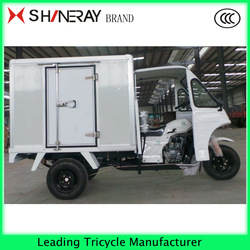 motorcycle truck 3-wheel tricycle Enclosed cargo box tricycle truck cargo tricycle hot sale in Africa